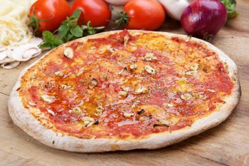 marinara olasz vékony tésztás pizza