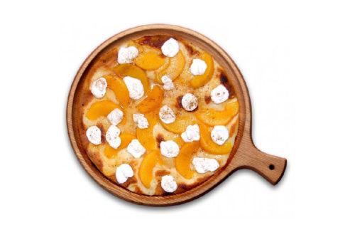 őszibarackos édes pizza debrecen