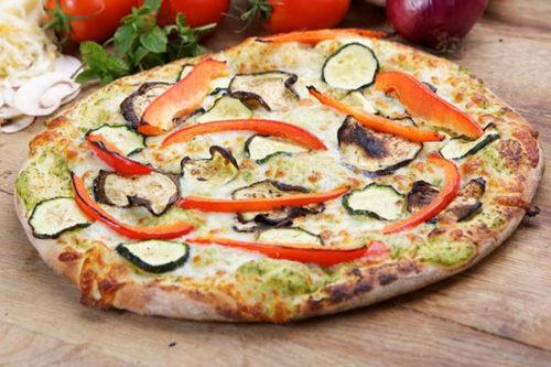 vegetariana light olasz vékony tésztás pizza debrecen