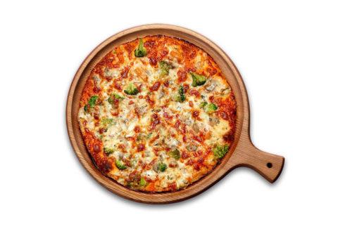 tejszínes-zöldéges pizza debrecen