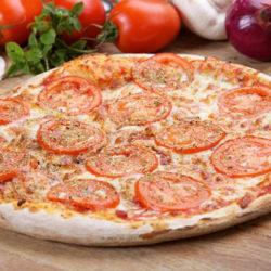 margherita olasz vékony tésztás pizza